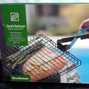 Brookstone Quick Release BBQ Barbecue